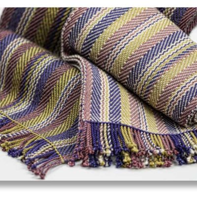 Men's Silk Scarf with Merino