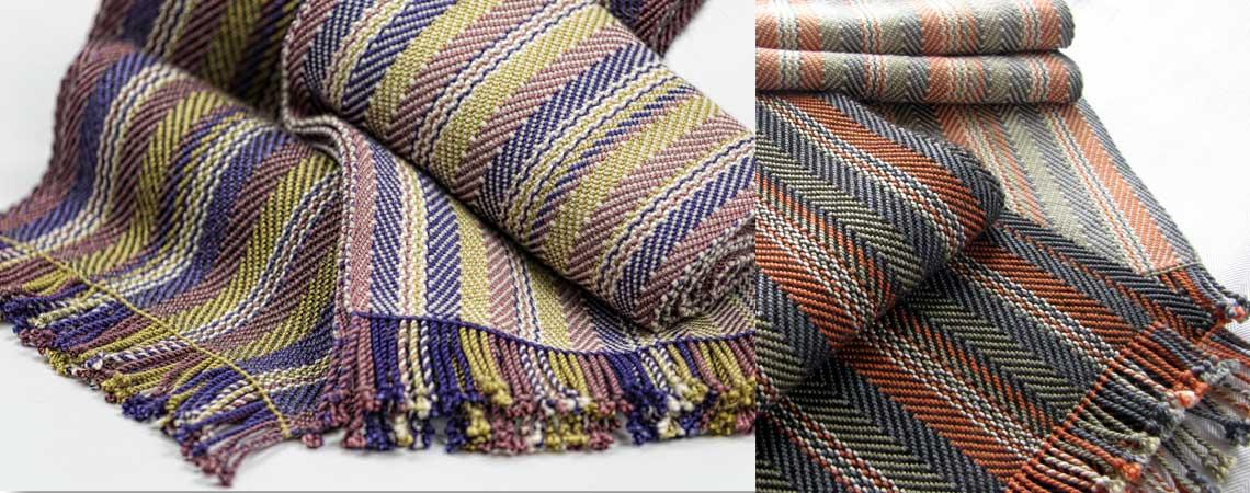 Men's Silk & Alpaca Scarves