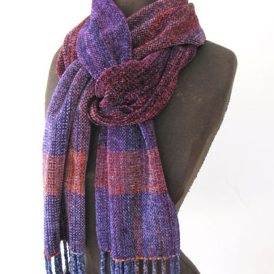 Rayon Chenille Scarf$115