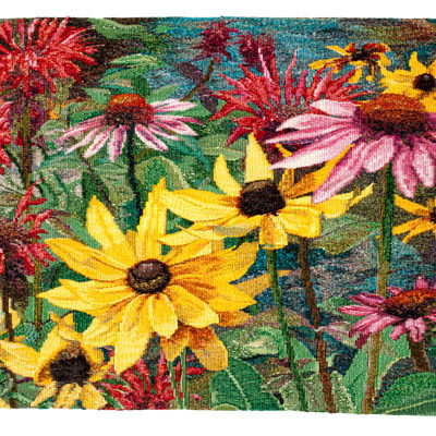 "Summer Splendour      Commissioned Tapestry       32"" x 21"""
